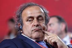 Presidente da Uefa, Michel Platini.   25/07/2015   REUTERS/Maxim Shemetov