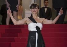 Atriz Sophie Marceau durante Festival de Cannes.  16/5/2015.       REUTERS/Yves Herman
