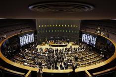 Vista general de la Cámara de Diputados de Brasil, en Brasilia, 3 de diciembre de 2014. El Senado de Brasil aprobó el miércoles un proyecto de ley para revocar las exenciones tributarias a las nóminas de pago, una medida clave en los esfuerzos de la presidenta Dilma Rousseff por reducir el déficit fiscal y restaurar la confianza en las cuentas de su Gobierno. REUTERS/Ueslei Marcelino