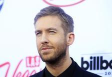 Calvin Harris durante a premiação Billboard Music Awards em Las Vegas, nos EUA 17/05/ 2015. REUTERS/L.E. Baskow