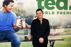 """Seth MacFarlane posa durante lançamento do filme """"Ted 2"""" em Nova York 24/06/ 2015.  REUTERS/Shannon Stapleton"""