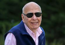 21st Century Fox Executive Co-Chairman Rupert Murdoch attends the first day of the annual Allen and Co. media conference in Sun Valley, Idaho July 8, 2015.  REUTERS/Mike Blake