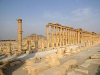 Vista da cidade história de Palmira, na Síria.  31/08/2015   REUTERS/Sandra Auger