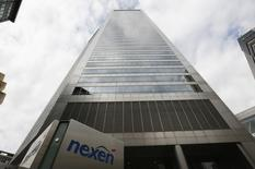 The Nexen building is seen in downtown Calgary, Alberta, in this July 23, 2012 file photo. REUTERS/Todd Korol