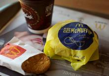 An Egg McMuffin meal is pictured at a McDonald's restaurant in Encinitas, California, in this file photo taken August 13, 2015. REUTERS/Mike Blake/Files
