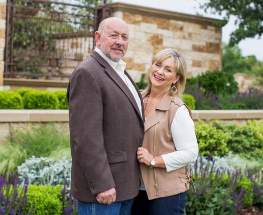Farris Wilks and his wife Joann