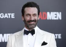 "Jon Hamm durante evento da série ""Mad Men"" em Los Angeles.   26/03/2015  REUTERS/Danny Moloshok"
