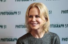 "Nicole Kidman durante evento da peça ""Photograph 51"", em Londres.   07/09/2015   REUTERS/Suzanne Plunkett"