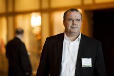 Presidente do Banco Central, Alexandre Tombini.   28/08/2015   REUTERS/Jonathan Crosby