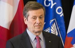 Prefeito de Toronto, John Tory 5/02/ 2015.  REUTERS/Mark Blinch