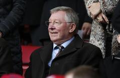 Ex-técnico do Manchester United Alex Ferguson durante partida contra o Liverpool na Inglaterra.  22/03/2015 Reuters / Phil Noble Livepic