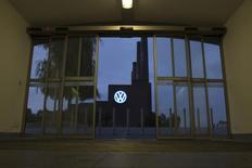 The Volkswagen power plant is seen from the railway station in Wolfsburg, Germany September 22, 2015.  REUTERS/Axel Schmidt