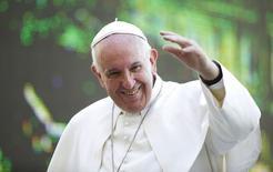 Papa Francisco na praça de São Pedro, no Vaticano. 30/09/2015 REUTERS/Max Rossi