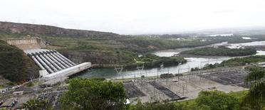 Hidrelétrica de Furnas em Minas Gerais. 14/01/2013 REUTERS/Paulo Whitaker