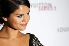 Cantora e atriz Selena Gomez em Londres. 20/09/2015 REUTERS/Luke MacGregor