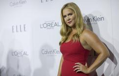 Comedian Amy Schumer poses at the 22nd annual ELLE Women in Hollywood Awards in Los Angeles, California October 19, 2015.  REUTERS/Mario Anzuoni