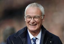 Técnico do Leicester City, Claudio Ranieri, durante partida do Campeonato Inglês.  17/10/2015  Action Images / Adam Holt Livepic