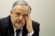 Ministro Ricardo Berzoini, da Secretaria de Governo, em Brasília. 29/04/2015 REUTERS/Ueslei Marcelino