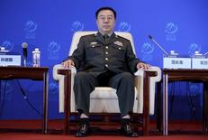 China's Central Military Commission Vice Chairman Fan Changlong attends the sixth Xiangshan Forum in Beijing, China, October 17, 2015. REUTERS/Jason Lee