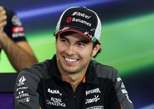 Force India's Sergio Perez ahead of the Mexican grand prix Mandatory Credit: Action Images / Hoch Zwei Livepic