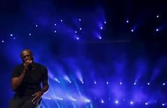 British singer Seal performs during the Rock in Rio music festival in Rio de Janeiro, Brazil, September 20, 2015.  REUTERS/Ricardo Moraes