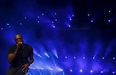Cantor britânico Seal se apresenta no Rock in Rio, no Rio de Janeiro, em setembro. 20/09/2015 REUTERS/Ricardo Moraes