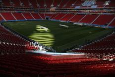 Vista geral do Estádio Nacional Mané Garrincha, em Brasília, em junho do ano passado. 09/06/2014 REUTERS/Ueslei Marcelino