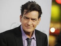 Charlie Sheen durante evento em Hollywood.  11/4/2013. REUTERS/Fred Prouser