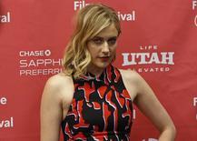 """Atriz Greta Gerwig em lançamento de """"Mistress America"""" em Utah, nos EUA. 24/1/2015.  REUTERS/Jim Urquhart"""