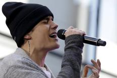 Singer Justin Bieber performs on NBC's 'Today' show in New York November 18, 2015. REUTERS/Brendan McDermid