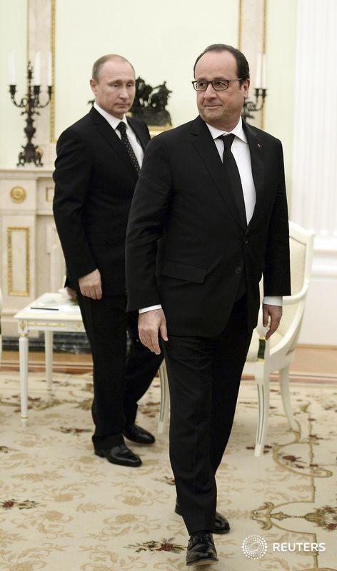 فرنسا وروسيا تتفقان على تبادل المعلومات لقتال الدولة الإسلامية في سوريا
