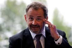 Guillaume Sarkozy, délégué général de Malakoff-Médéric, devrait être contraint de quitter son poste, mis à l'écart par les administrateurs du groupe de protection sociale sur fond de tensions liées au rapprochement avec La Mutuelle générale, selon L'Argus de l'assurance.  /Photo d'archives/REUTERS/Benoît Tessier
