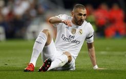 Atacante do Real Madrid Karim Benzema durante partida contra o Barcelona, na Espanha.  21/11/2015 Reuters / Stringer Livepic