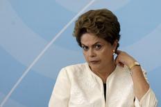 Presidente Dilma Rousseff no Palácio do Planalto  24/11/2015. REUTERS/Ueslei Marcelino