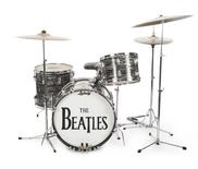 A studio drum set played by Ringo Starr, the first Ludwig Oyster Black Pearl drum kit, used for the Beatles' early recordings is shown in this photo released on December 2, 2015. REUTERS/Julien's Auctions/Handout via Reuters