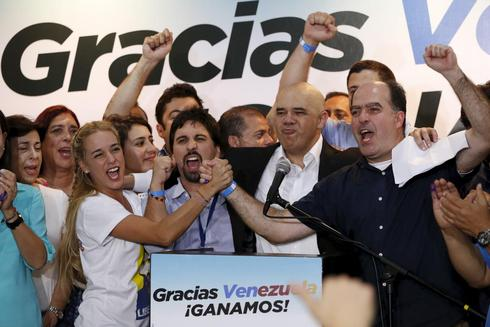 Venezuela opposition claims victory
