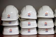 La foncière Klépierre remplacera l'électricien public EDF dans le CAC 40 le 21 décembre, a annoncé lundi Euronext après une révision trimestrielle de l'indice phare de la Bourse de Paris./Photo prise le 13 novembre 2015/REUTERS/Charles Platiau