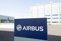 Las instalaciones de Airbus en Alabama, Estados Unidos, el 13 de septiembre de 2015. Airbus Group está estudiando la venta de Vector Aerospace Corp, su filial de servicios y mantenimiento de aviones, en un acuerdo que podría alcanzar los 800 millones de dólares, según fuentes cercanas a la operación. REUTERS/Michael Spooneybarger