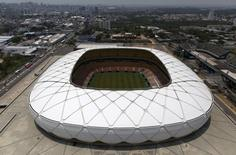 A view of the Arena da Amazonas Stadium that will host soccer matches in the Rio 2016 Olympic Games in Manaus, Brazil, October 1, 2015. REUTERS/Bruno Kelly