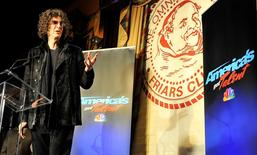 Radio & TV personality Howard Stern speaks during an 'America's Got Talent' news conference in New York City in this picture taken May 10, 2012. REUTERS/Stephen Chernin