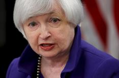 U.S. Federal Reserve Chairman Janet Yellen answers a reporter's question during a news conference in Washington December 16, 2015.  REUTERS/Jonathan Ernst -