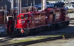 The Canadian Pacific railyard is pictured in Port Coquitlam, British Columbia in this file photo from February 15, 2015.  REUTERS/Ben Nelms/Files