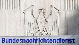 Вход в здание немецкой разведслужбы Bundesnachrichtendienst (BND) в Пуллахе. 13 августа 2013 года. Немецкая разведка возобновила обмен информацией об исламистских боевиках со спецслужбами сирийского президента Башара Асада, сообщила газета Bild. REUTERS/Michael Dalder