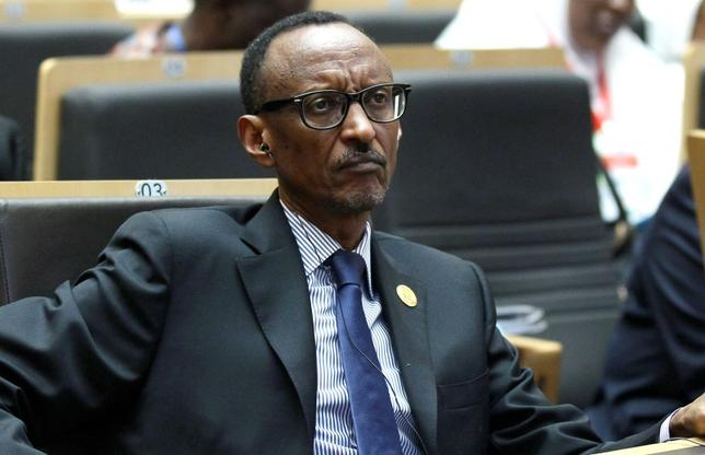 Rwanda's President Paul Kagame attends the opening ceremony of the 24th Ordinary session of the Assembly of Heads of State and Government of the African Union (AU) at the African Union headquarters in Ethiopia's capital Addis Ababa, January 30, 2015. REUTERS/Tiksa Negeri
