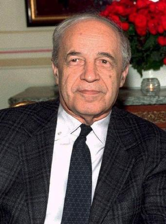 MAY 1996 FILE PHOTO - French conductor Pierre Boulez, shown in this May 1996 file photograph, has received six Grammy Award nominations, tied for second most of any artist, including Best Orchestral Performance for '' Mahler: Sym. No. 1'' with the Chicago Symphony Orchestra, as nominations were announced January 4 in Beverly Hills.