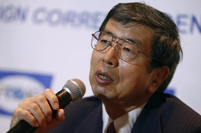 1月8日、アジア開発銀行の中尾武彦総裁は、中国の財政状況は堅調でインフレ率は抑制されているとし、同国が景気刺激策を実施する余地があるとの考えを示した。写真はマニラ圏で2014年11年撮影(2016年 ロイター/Erik De Castro)