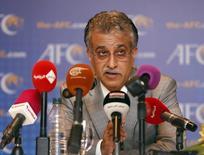 FIFA presidential candidate Sheikh Salman Bin Ebrahim Al Khalifa REUTERS/Bazuki Muhammad