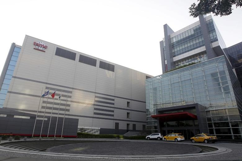 The Taiwan Semiconductor Manufacturing Co Ltd (TSMC) headquarters building is seen in Hsinchu, northern Taiwan, November 19, 2015. REUTERS/Pichi Chuang