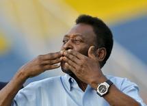 File picture of Legendary Brazilian soccer player Pele October 16, 2015. REUTERS/Anindito Mukherjee