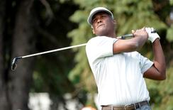 File picture of Vijay Singh at the RBC Canadian Open at Royal Montreal GC - Blue Course.  Eric Bolte-USA TODAY Sports